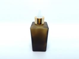 Vidro Spray Square Fumê 250 ml
