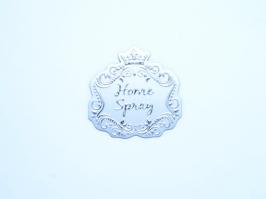 Etiqueta Luxo Coroa Home Spray Prata