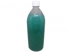 Base Sabonete  Gel com Glitter Azul Florescente  1L