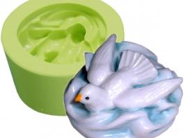 Molde de silicone Pombinha