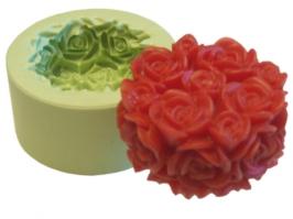 Molde Tubete de Rosas