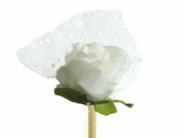 Vareta Rosa E.V.A pequena (Branca)