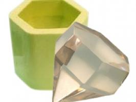 Molde de Silicone Diamante