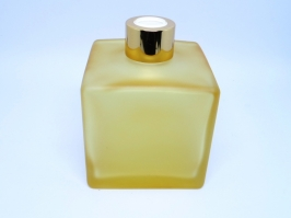 Vidro Difusor Cubo Amarelo 350 ml
