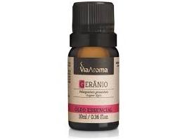 Óleo Essencial Gerânio 10 ml (Via Aroma)