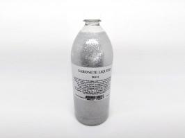 Base Sabonete Gel com Glitter Prata 1L