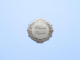 Etiqueta Luxo Sabonete Liquido Dourada