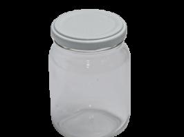 Pote de Vidro Redondo 250 g