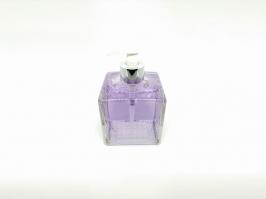Vidro Saboneteira Cubo Transparente 350 ml