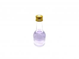 Vidro Difusor Garrafa Champanhe Transparente 50 ml