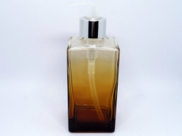 ​Saboneteira Square Degrade Ambar 250 ml