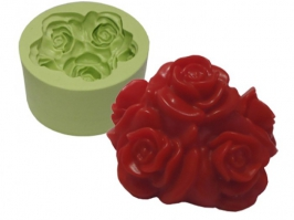 Molde de Silicone Bouquet