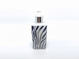 Vidro Saboneteira Square Zebra 250 ml