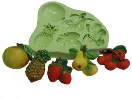 Molde Frutas Com Abacaxi
